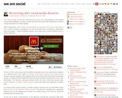 "20 Social Media Marketing Blogs You Should Read in 2013 | Pamorama | Social Media Marketing Blog | ""latest technology news"" 