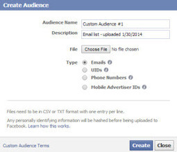 How to Take Your Relationships to the Next Level with Facebook Custom Audiences | My Social Media Resources | Scoop.it
