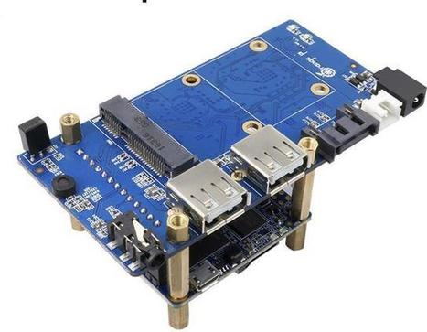 Orange Pi Zero NAS Expansion Board with SATA, USB, and AV Port Sells for $10 Shipped | Embedded Systems News | Scoop.it