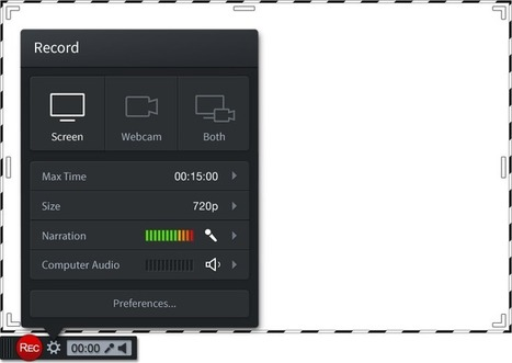 Screencast-O-Matic - easy screen recording | talkprimaryICT | Scoop.it