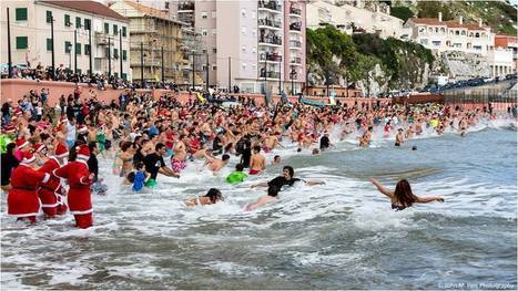 Over 1,000 Gibraltar swimmers take plunge for Boxing Day Polar Bear charity swims   Gibraltar News Olive Press   Investors Europe, Gibraltar   Scoop.it