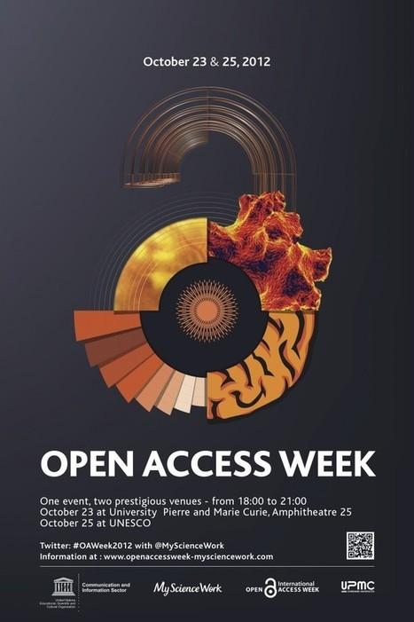 Open Access Week 2012 : deux événements à Paris ! | The World of Open | Scoop.it