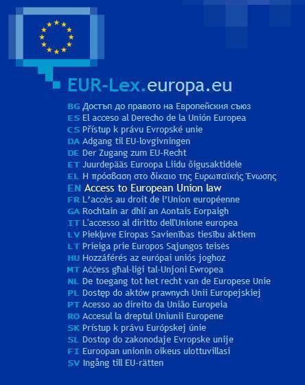 EUR-Lex - Simple search | TELT | Scoop.it