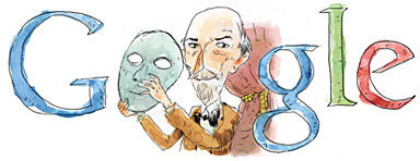 Il doodle di Google è per il grande Luigi Pirandello | Social media marketing News | Scoop.it
