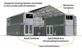 Ben Greene's Aquaponic-Farm in Shipping Containers. - florafocus.eu | Vertical Farm - Food Factory | Scoop.it