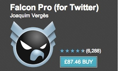 Twitter token limit criticised as Falcon Pro hikes app price to deter buyers | SOCIALFAVE - Complete #SMM platform to organize, discover, increase, engage and save time the smartest way. #TOP10 #Twitter platforms | Scoop.it