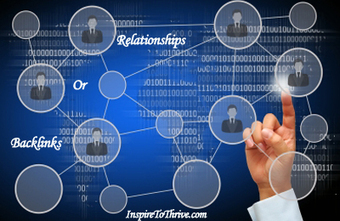 Relationships or Quality Links – Which Matter More To You? | Blogging Tips | Scoop.it