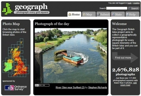 Geograph the British Isles – combining mapping, photography and gaming in the classroom « ICT for Teaching & Learning in Falkirk Primary Schools | ICT ideas | Scoop.it