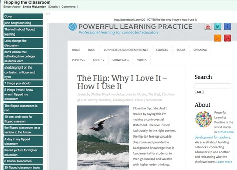 Flipping the Classroom - LiveBinder | Education Greece | Scoop.it