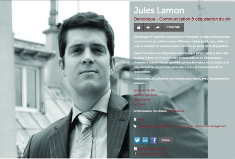 Jules Lamon - Wine and the City | Wine and the City - www.wineandthecity.fr | Scoop.it