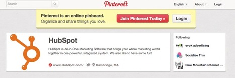 Your Guide To The New Pinterest Business Pages | Brand Marketing & Branding | Scoop.it