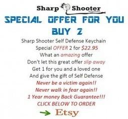 The Viper Sharp Shooter Self Defense Keychain