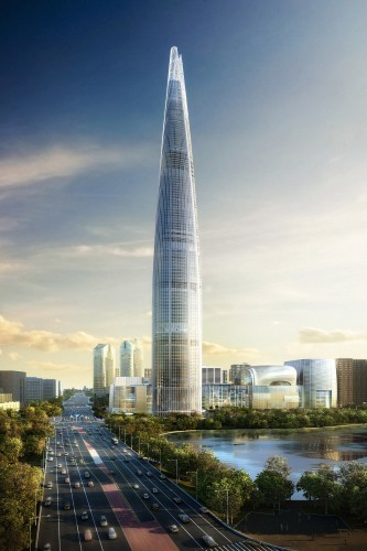 [Seoul, South Korea] In Progress: Lotte World Tower / KPF   The Architecture of the City   Scoop.it