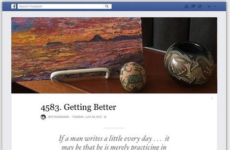 Vous pouvez maintenant bloguer sur Facebook   Réseaux sociaux et Curation   Scoop.it