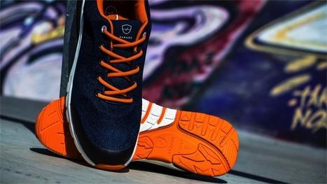 chaussure de sport' in L'innovation dans la la la filière cuir 4e3c4d