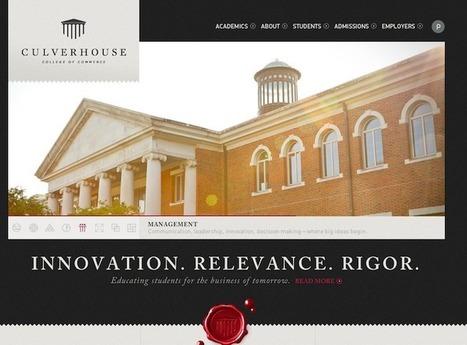 University Websites: Top 10 Design Guidelines | Expertiential Design | Scoop.it