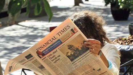 Le Financial Timesne s'est jamais autant vendu | Revue des médias | Scoop.it