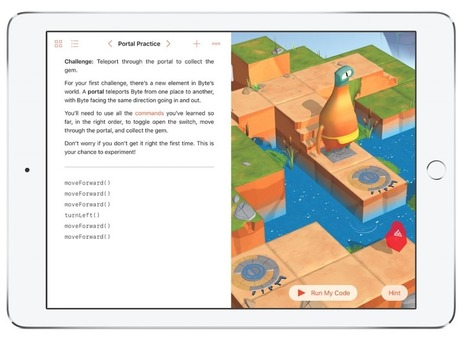 We Played Apple's New Game That Teaches Kids How To Code | Curtin iPad User Group | Scoop.it