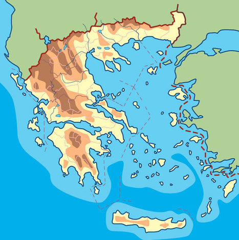 La geografia ampliada de l'antiga Grècia | Cultura Clásica | Scoop.it
