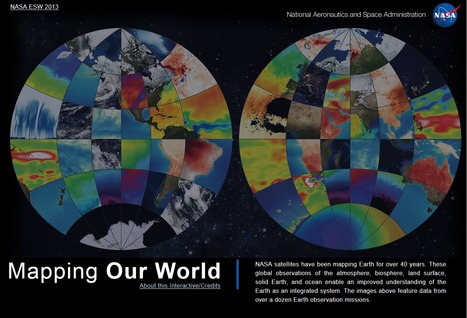 Mapping Our World | NASA Interactive Poster | Map@Print | Scoop.it