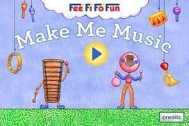 Make Me Music: Musical App for Kids to Explore and Create Music! - Fun Educational Apps: Top Apps for Kids Reviews! | FeeFiFoFun News! | Scoop.it