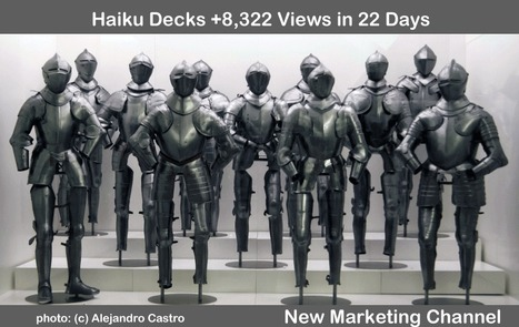 Has @HaikuDeck Created A New Powerful Visual Marketing Channel? +8,322 Views in 22 Days says YES! | Curation Revolution | Scoop.it