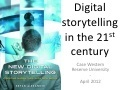 Digital Storytelling at Case Western, Part 1 | Just Story It! Biz Storytelling | Scoop.it