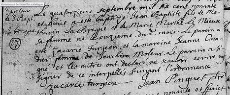 Mon Sosa 666: Jean-Baptiste Labrecque | Généalogie | Scoop.it