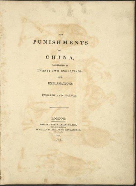 The Punishments of China, 1804   GenealoNet   Scoop.it