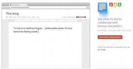 Coolest Google Docs Demo Ever. | Using Google Drive in the classroom | Scoop.it