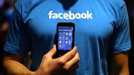Le discret succès de l'application Facebook pour téléphones classiques   toute l'info sur Facebook   Scoop.it
