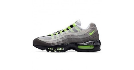 b03aa7524fc31c Nike Air Max 95 OG Neon 2018 Green For Sale 554970-071