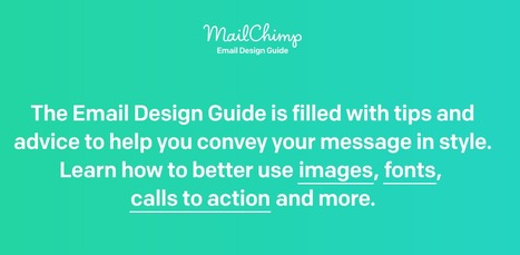 Email Design Guide | Web UX Links | Scoop.it