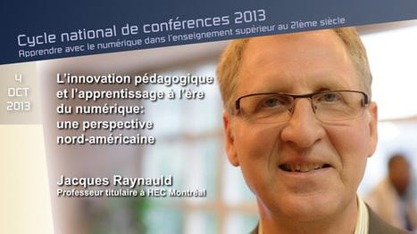 L'innovation pédagogique et l'apprentissage à l'ère du numérique: une perspective nord-américaine | TUICE_Université_Secondaire | Scoop.it
