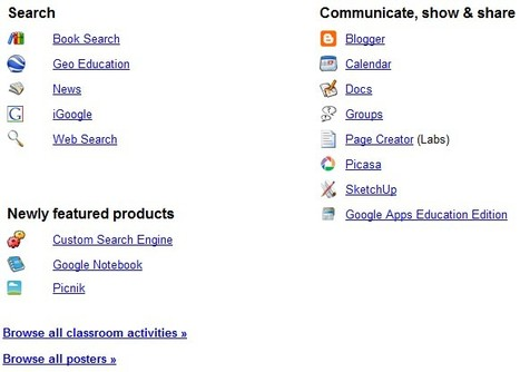 Google For Educators | Integrating Technology in the Classroom | Scoop.it
