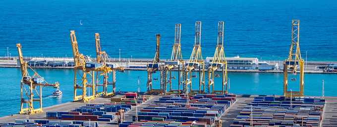 Impacts of the COVID-19 pandemic on Ports and Maritime Transport in the Mediterranean Region