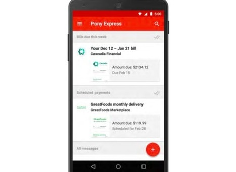 Google Working on Project to Let You Receive and Pay Bills Directly Inside Gmail | Google + Applications | Scoop.it