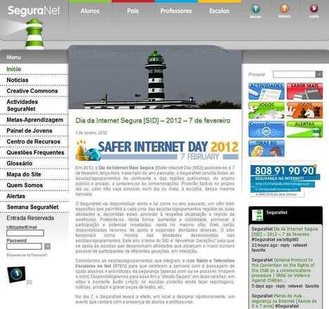 Dia/Semana da Internet Mais Segura   Centro de Competência em TIC – ESE/IPS   Segurança na Internet   Scoop.it