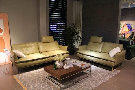 Modern Design Style Leather Sofa 5623# | KUKA HOME Furniture Design