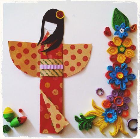 Japanese Paper Doll Tutorial | Bazaar | Scoop.it
