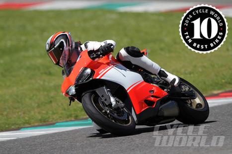 Best Superbike Motorcycle of 2014: Ducati 1199 Superleggera   Cycle World   Ductalk Ducati News   Scoop.it