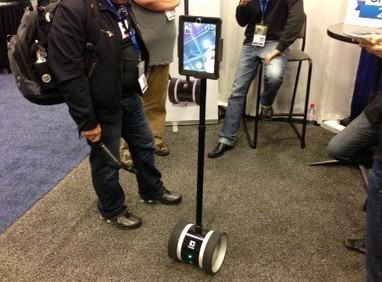 Double Robotics shows off its iPad-equipped robot | From the Apple Orchard | Scoop.it