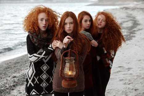 Stunning Redhead Portraits by Vitaliy Zubchevskiy | PhotoHab | Scoop.it
