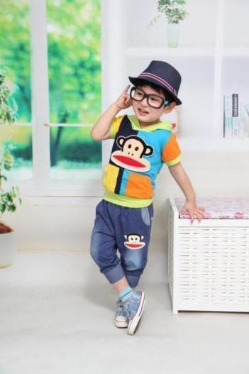 Baju Anak Laki Branded DL-1 F Setelan - baju anak branded murah 684385d397