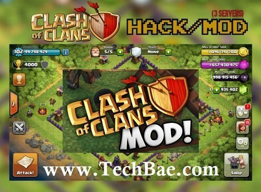 clash of clans unlimited everything hack