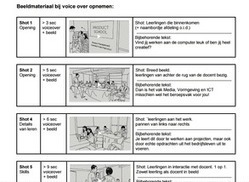 Storyboard + script stappenplan generator voor promovideo van school of je eigen vak | E-learning, Blended learning, Apps en Tools in het Onderwijs | Scoop.it