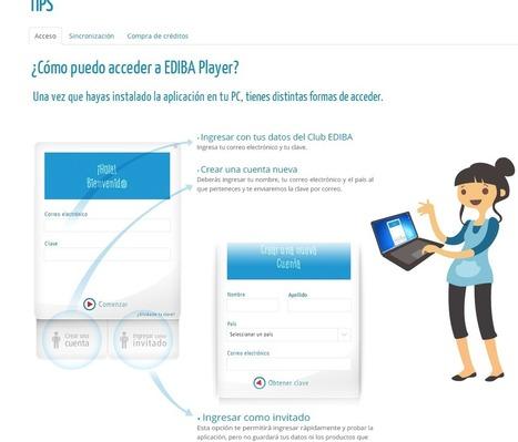 Ediba Player: Contenidos educativos para descargar   Ticenelaula   Scoop.it