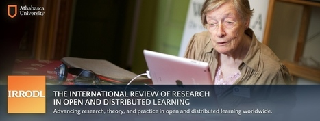 The International Review of Research in Open and Distributed Learning   Learning-21st Century   Scoop.it