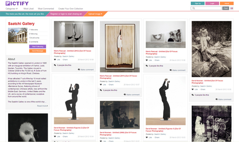 Discover, Collect And Share Your Favourite Artworks With Pictify   Being Social Us   Scoop.it