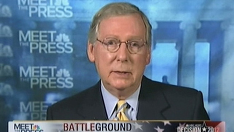 Progressives seek wary alliance with tea party to oust Mitch McConnell   Daily Crew   Scoop.it